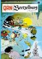 Couverture Spirou et Fantasio, tome 18 : QRN sur Bretzelburg Editions Dupuis 1966