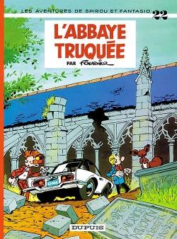 Couverture Spirou et Fantasio, tome 22 : L'Abbaye truquée