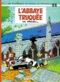 Couverture Spirou et Fantasio, tome 22 : L'Abbaye truquée Editions Dupuis 1972