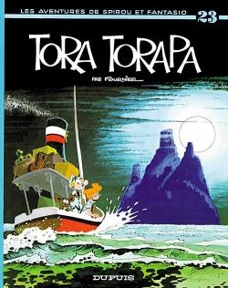 Couverture Spirou et Fantasio, tome 23 : Tora Torapa