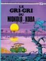 Couverture Spirou et Fantasio, tome 25 : Le Gri-gri du Niokolo-Koba Editions Dupuis 1974