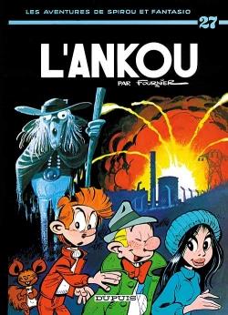 Couverture Spirou et Fantasio, tome 27 : L'Ankou