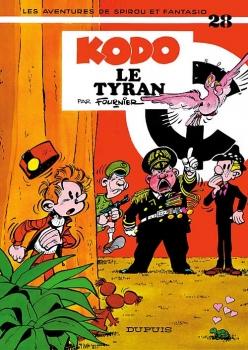 Couverture Spirou et Fantasio, tome 28 : Kodo le tyran