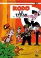 Couverture Spirou et Fantasio, tome 28 : Kodo le tyran Editions Dupuis 1979