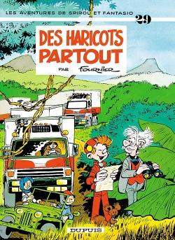Couverture Spirou et Fantasio, tome 29 : Des haricots partout