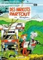Couverture Spirou et Fantasio, tome 29 : Des haricots partout Editions Dupuis 1980