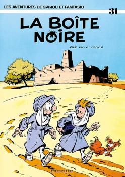 Couverture Spirou et Fantasio, tome 31 : La Boîte noire