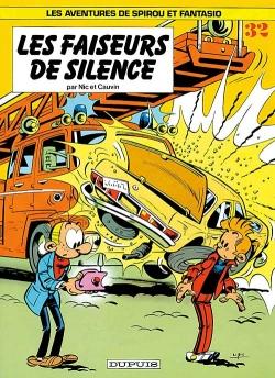 Couverture Spirou et Fantasio, tome 32 : Les Faiseurs de silence