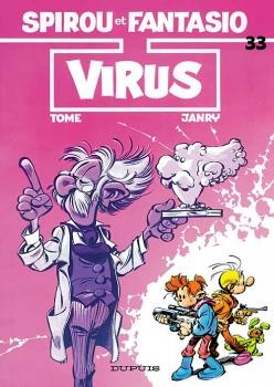 Couverture Spirou et Fantasio, tome 33 : Virus