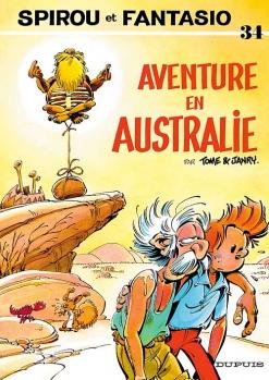 Couverture Spirou et Fantasio, tome 34 : Aventure en Australie