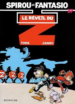 Couverture Spirou et Fantasio, tome 37 : Le Réveil du Z