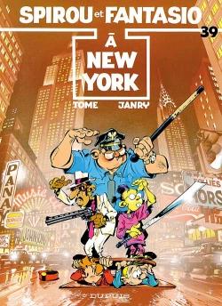 Couverture Spirou et Fantasio, tome 39 : Spirou à New York