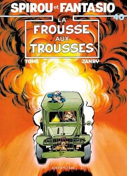 Couverture Spirou et Fantasio, tome 40 : La Frousse aux trousses