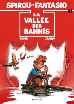 Couverture Spirou et Fantasio, tome 41 : La Vallée des bannis