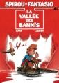 Couverture Spirou et Fantasio, tome 41 : La Vallée des bannis Editions Dupuis 1989