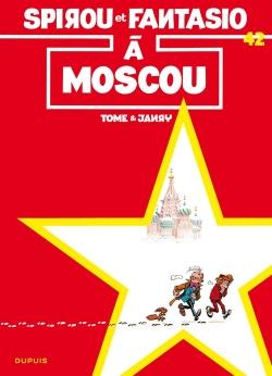 Couverture Spirou et Fantasio, tome 42 : Spirou à Moscou