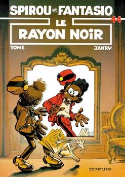 Couverture Spirou et Fantasio, tome 44 : Le Rayon noir