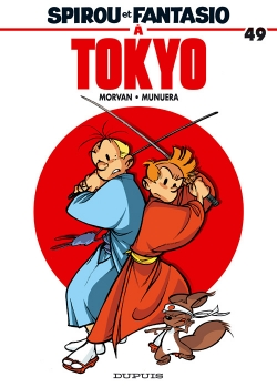 Couverture Spirou et Fantasio, tome 49 : Spirou et Fantasio à Tokyo