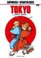 Couverture Spirou et Fantasio, tome 49 : Spirou et Fantasio à Tokyo Editions Dupuis 2006