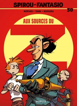 Couverture Spirou et Fantasio, tome 50 : Aux sources du Z