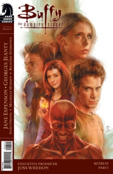Couverture Buffy The Vampire Slayer, Season 8, book 26 : Retreat, part 1