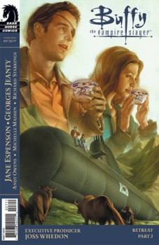 Couverture Buffy The Vampire Slayer, Season 8, book 27 : Retreat, part 2