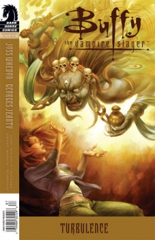 Couverture Buffy The Vampire Slayer, Season 8, book 31 : Turbulence