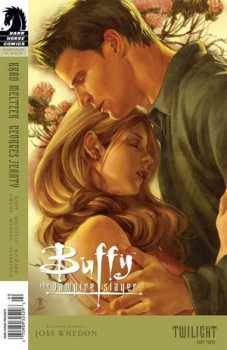 Couverture Buffy The Vampire Slayer, Season 8, book 34 : Twilight, part 3