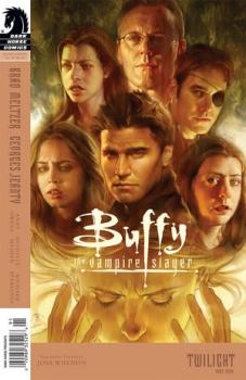 Couverture Buffy The Vampire Slayer, Season 8, book 35 : Twilight, part 4