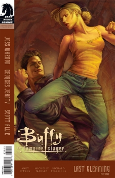 Couverture Buffy The Vampire Slayer, Season 8, book 39 : Last Gleaming, part 4