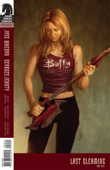 Couverture Buffy The Vampire Slayer, Season 8, book 40 : Last Gleaming, part 5