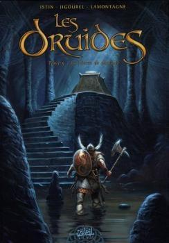 Couverture Les Druides, tome 5 : La Pierre de destinée