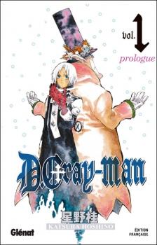 Couverture D.Gray-man, tome 01 : Prologue