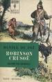 Couverture Robinson Crusoé Editions Marabout (Géant illustré) 1962