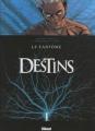 Couverture Destins, tome 05 : Le Fantôme Editions Glénat (Grafica) 2010