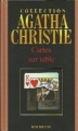 Couverture Cartes sur table Editions Hachette (Agatha Christie) 2004