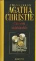 Couverture Témoin indésirable Editions Hachette (Agatha Christie) 2005