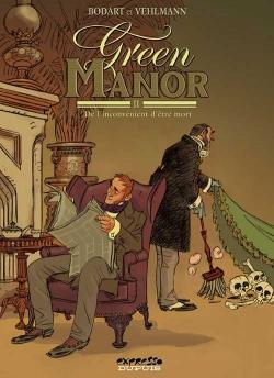 Couverture Green Manor, tome 2 : De l'inconvénient d'être mort
