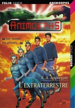 Couverture Animorphs, tome 08 : L'extraterrestre