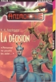 Couverture Animorphs, tome 18 : La décision Editions Folio  (Junior) 1998