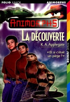 Couverture Animorphs, tome 20 : La découverte