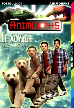 Couverture Animorphs, tome 25 : Le voyage