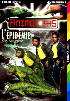 Couverture Animorphs, tome 29 : L'épidémie