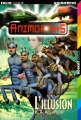 Couverture Animorphs, tome 33 : L'illusion Editions Folio  (Junior) 2000