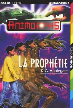 Couverture Animorphs, tome 34 : La prophétie