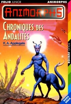 Couverture Animorphs, tome hs : Chroniques des Andalites