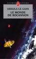 Couverture Le monde de Rocannon Editions  2003