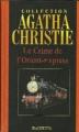 Couverture Le crime de l'orient-express Editions Hachette (Agatha Christie) 2004