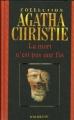 Couverture La mort n'est pas une fin Editions Hachette (Agatha Christie) 2005