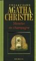 Couverture Meurtre au champagne Editions Hachette (Agatha Christie) 2004